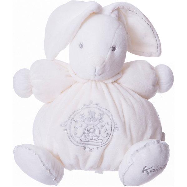 Заяц средний кремовый, коллекция Жемчуг, KalooМягкие игрушки животные<br>Мягкий зайчонок Kaloo – симпатичная игрушка нежно кремового цвета с красивой вышивкой, отлично подойдет в качестве приятного подарка для ребенка.<br>Игрушка выполнена из мягкого материала, который приятен на ощупь и мягок.<br><br>Дополнительная информация:<br><br>-Материал: ткань, искусственный мех<br>-Высота игрушки: 25 см<br>-Вес: 0.3 кг<br>-Размер упаковки: диаметр 22 см<br><br>Среднего кремового зайца, коллекции Жемчуг, Kaloo можно купить в нашем интернет-магазине.<br>Ширина мм: 285; Глубина мм: 50; Высота мм: 285; Вес г: 400; Возраст от месяцев: 0; Возраст до месяцев: 1188; Пол: Унисекс; Возраст: Детский; SKU: 4862336;