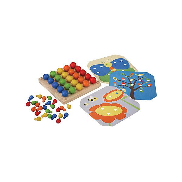 Plan Toys Деревянная мозаика Plan Toys геометрический сортер plan toys ут 00019126