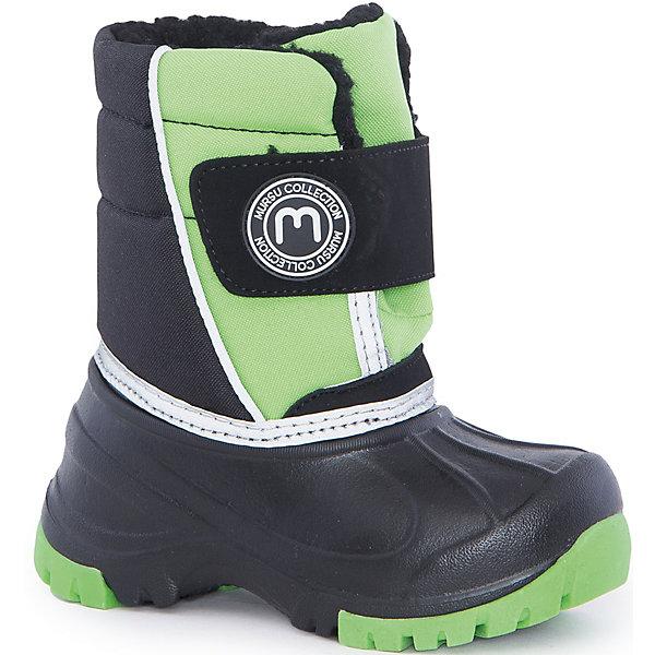 MURSU Сноубутсы для мальчика Mursu ботинки для мальчика mursu цвет черный 205598 размер 31