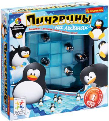Логическая игра Bondibon  Пингвины на льдинах , артикул:4864494 - Головоломки
