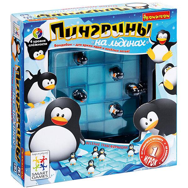 Bondibon Логическая игра Bondibon Пингвины на льдинах bondibon логическая игра парковка пазл вв1887