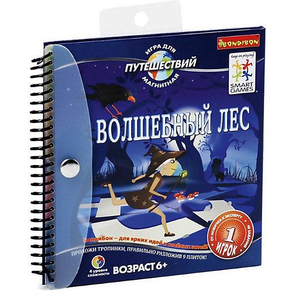 цена на Bondibon Магнитная игра для путешествий Волшебный лес, Bondibon