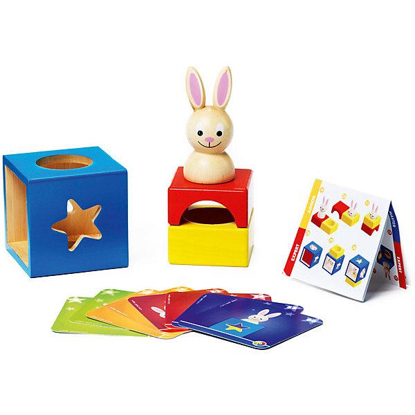 Bondibon Логическая игра Застенчивый Кролик, Bondibon bondibon логическая игра парковка пазл вв1887