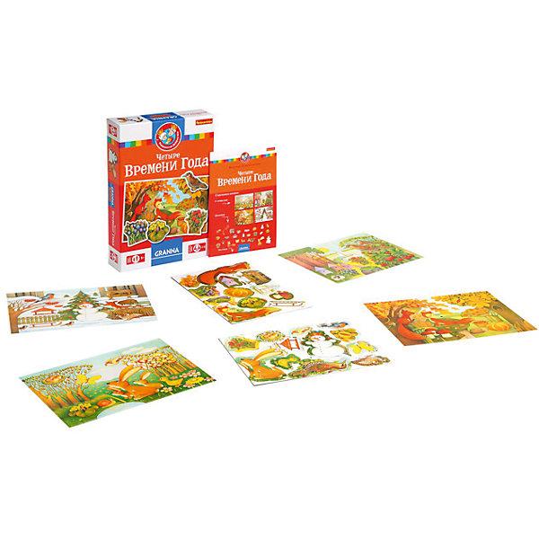 Bondibon Настольная игра Четыре времени года из серии Королевство добрых игр, Bondibon хейде с лис и зайка четыре времени года