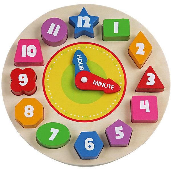 Деревянная рамка-вкладыш Часы, BondibonОбучающие игры<br>Деревянная рамка Часы создана для развития моторики и логического мышления у детей. Разноцветные часы имеют специальные отверстия, в которых нужно расположить цифры в правильной последовательности. Такая игра поможет выучить ребенку названия геометрических фигур и цветов. К тому же в дальнейшем родители смогут научить его правильно определять время.<br><br>Дополнительная информация:<br><br>- Возраст: от 18 месяцев<br>- В комплекте: деревянная рамка со стрелками, 12 геометрических фигур<br>- Материал: дерево, пластик<br>- Размер упаковки: 23х4х23 см<br>- Вес: 0.22 кг<br><br>Деревянную рамку-вкладыш Часы, Bondibon можно купить в нашем интернет-магазине.<br>Ширина мм: 225; Глубина мм: 25; Высота мм: 230; Вес г: 420; Возраст от месяцев: 180; Возраст до месяцев: 36; Пол: Унисекс; Возраст: Детский; SKU: 4864528;