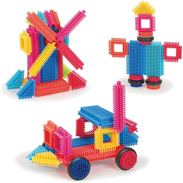 Конструктор игольчатый в коробке, 36 деталей, Bristle Blocks от Battat