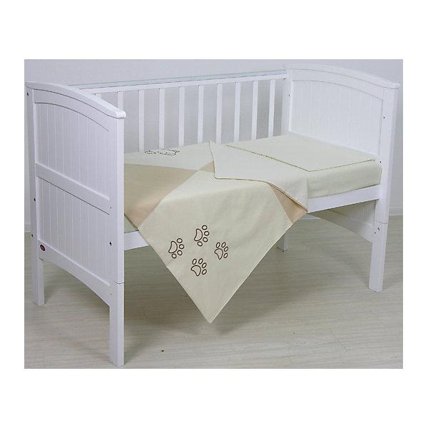 Детское постельное белье 3 предмета Fairy, СледыПостельное белье в кроватку новорождённого<br>Хорошее постельное белье для детей делается из натуральных материалов. Этот комплект, состоящий  из наволочки, простыни и пододеяльника, сшит из льна и хлопка, гипоаллергенного, приятного на ощупь и позволяющего коже дышать.<br>Все предметы из набора - стандартных размеров, отлично подойдут к обычной подушке, матрасу и одеялу. Симпатичная расцветка комплекта отлично подойдет к интерьеру детской.<br><br>Дополнительная информация:<br><br>цвет: разноцветный, принт;<br>материал: 100% хлопок;<br>наволочка: 40х60 см,<br>простыня: 110х160 см,<br>пододеяльник: 110х140 см.<br><br>Постельное белье Fairy, 3 пред.,  можно купить в нашем магазине.<br>Ширина мм: 570; Глубина мм: 410; Высота мм: 570; Вес г: 960; Возраст от месяцев: 0; Возраст до месяцев: 36; Пол: Унисекс; Возраст: Детский; SKU: 4873627;