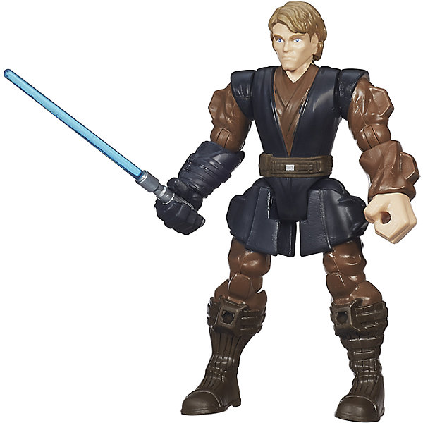 Hasbro Игровая фигурка Star Wars Hero Mashers Энакин Скайуокер decool 10589 hero factory 6 0 star soldier action figure surge