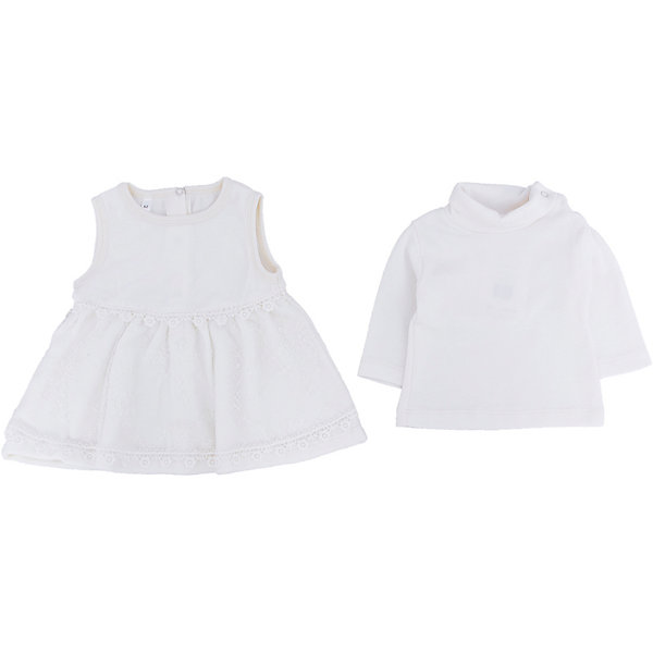 Soni Kids Комплект: сарафан и водолазка для девочки Soni kids soni kids комплект платье и позязка на голову для девочки soni kids