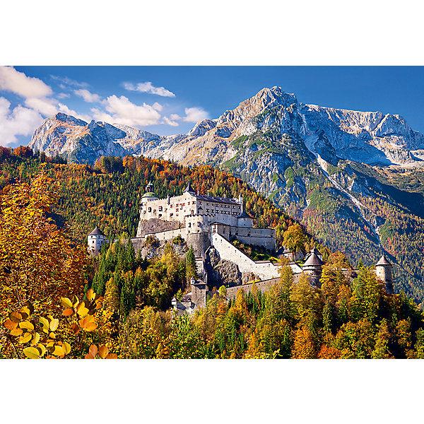Пазл Замок, Австрия, 1000 деталей, CastorlandПазлы классические<br>Характеристики:<br><br>• размер упаковки: 25х35х5см.;<br>• количество элементов: 1000шт.;<br>• размер готовой картинки: 68х47см.;<br>• материал: картон;<br>• вес: 614г.;<br>• для детей в возрасте: от 9 лет;<br>• страна производитель: Польша;<br><br> Красочный пазл «Замок, Австрия» бренда Castorland (Касторланд) станет замечательным экземпляром для домашней коллекции головоломок. Это лицензионный пазл сделанный из экологически чистых материалов, которые безопасны для детей.<br><br>Мозаика имеет тысячу разноцветных элементов, что делает сборку интереснее и труднее. Быстрее с пазлом справятся дети, которые уже имеют опыт игры с пазлами. В составлении картинки могут участвовать все члены семьи, что очень объединяет.<br><br>Собранный пазл превращается в настоящее произведение искусства. Большая яркая картина может украсить интерьер любой комнаты. Её цвета мягкие и спокойные, они не напрягают глаза, и дарят ощущение спокойствия.<br><br>Составление пазлов помогает детям развивать образное и логическое мышление, внимательность, учит правильно воспринимать связь между частью и целым, усидчивость, мелкую моторику, просто с пользой провести время.<br><br>Пазл «Замок, Австрия», можно купить в нашем интернет-магазине.<br>Ширина мм: 350; Глубина мм: 50; Высота мм: 250; Вес г: 500; Возраст от месяцев: 168; Возраст до месяцев: 1188; Пол: Унисекс; Возраст: Детский; SKU: 4879218;