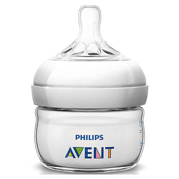 PHILIPS AVENT Бутылочка Naturаl 60 мл, 0-6 мес, Philips Avent бутылочка philips avent для кормления 330 мл с 3 мес 86475