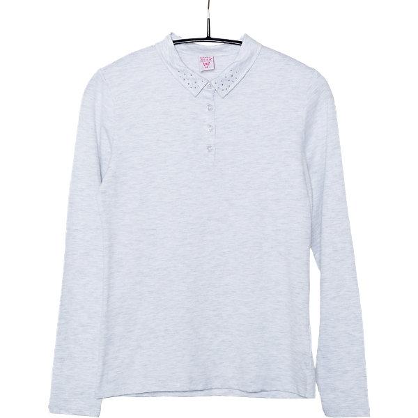 Блузка для девочки SELAБлузки и рубашки<br>Блузка для девочки из коллекции осень-зима 2016-2017 от известного бренда Sela(сэла). Модель имеет длинные рукава и полуприлегающий силуэт. Классическая светлая блузка - отличный вариант для важных мероприятий!<br>Особенности:<br>-длинные рукава<br>-полуприлегающий силуэт<br>Состав: 5% эластан, 95% хлопок<br>Блузку для девочек Sela(сэла) можно купить в нашем интернет-магазине.<br>Ширина мм: 186; Глубина мм: 87; Высота мм: 198; Вес г: 197; Цвет: серый; Возраст от месяцев: 132; Возраст до месяцев: 144; Пол: Женский; Возраст: Детский; Размер: 152,170,164,158; SKU: 4883847;