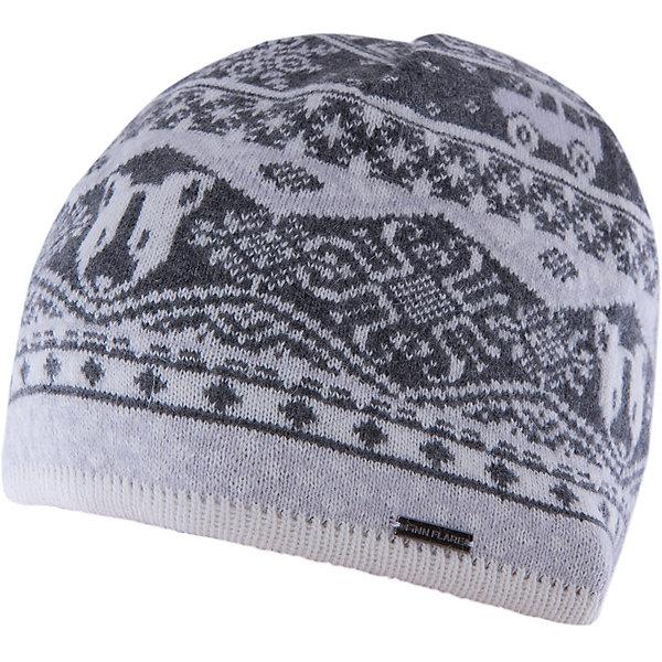 Шапка для мальчика Finn FlareГоловные уборы<br>Шапка известной марки Finn Flare.<br><br>Детская шапка используется в весенне-осенний сезон. Шапка вязаная, тонкая, украшена принтом. Легко стирается и хорошо носится. <br><br>Состав: 80% шерсть, 20% нейлон<br><br>Шапку для мальчика Finn Flare можно купить в нашем интернет-магазине.<br>Ширина мм: 89; Глубина мм: 117; Высота мм: 44; Вес г: 155; Цвет: серый; Возраст от месяцев: 60; Возраст до месяцев: 72; Пол: Мужской; Возраст: Детский; Размер: 54; SKU: 4890386;
