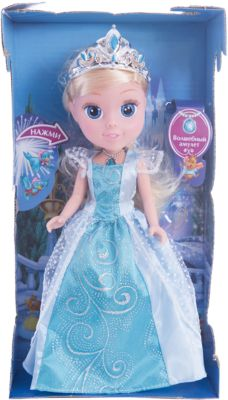 Кукла  Золушка со светящимся амулетом , 25см, со звуком, Принцессы Дисней, Карапуз, артикул:4891791 - Категории