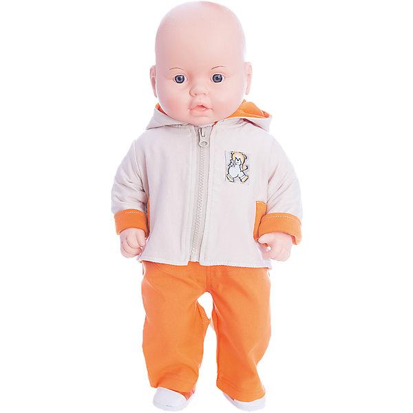 Кукла Владик 3, ВеснаКуклы<br>Характеристики:<br><br>• тип игрушки: кукла;<br>• комплектация: кукла, костюм, куртка, носочки, ботиночки;<br>• возраст: от 3 лет;<br>• размер: 53 см;<br>• бренд: Весна<br>• производство: Россия;<br>• упаковка: картонная коробка блистерного типа;<br>• материал: пластик, текстиль.<br><br>Кукла по имени Владик 3 от российского производителя Весна – это очень миловидный малыш, который станет для ребенка не только любимой куклой, но и интересным спутником для интересных ролевых игр. Кукла выполнена в очень реалистичном стиле, по этому ребенок будет о ней заботится и ухаживать с радостью и вниманием.<br>Высота куклы 53 см. <br><br>На игрушке есть одежда - тёплый костюмчик с курточкой, украшенной аппликацией медвежонка, дополненные ботиночками и носочками на ножках. Глаза куклы очень выразительные, с длинными черными ресницами, при наклоне могут закрываться, имитируя сон. Все части тела игрушки подвижны, голова поворачивается.<br><br>Кукла изготовлена из высококачественных материалов, приятных на ощупь и безопасных для детей. Не вызывает аллергию и не выделяет неприятные запахи при использовании. Так же стоит обратить внимание на то, что производитель оставляет за собой право изменения цветовой гаммы, фасона одежды и волос куклы, цвет глаз так же может варьироваться.<br><br>Куклу по имени Владик 3  можно купить в нашем интернет-магазине.<br>Ширина мм: 590; Глубина мм: 240; Высота мм: 150; Вес г: 730; Возраст от месяцев: 36; Возраст до месяцев: 144; Пол: Женский; Возраст: Детский; SKU: 4896489;