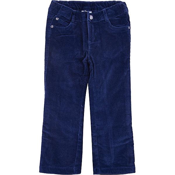 Брюки для мальчика PlayTodayБрюки<br>Брюки для мальчика от известного бренда PlayToday.<br>Уютные вельветовые брюки темно-синего цвета. Классическая пятикарманка. Застегиваются на молнию и кнопку, пояс на резинке. Внутри мягкая хлопковая подкладка.<br>Состав:<br>Верх: 98% хлопок, 2% эластан, подкладка: 50% хлопок, 50% полиэстер<br>Ширина мм: 215; Глубина мм: 88; Высота мм: 191; Вес г: 336; Цвет: синий; Возраст от месяцев: 36; Возраст до месяцев: 48; Пол: Мужской; Возраст: Детский; Размер: 104,122,98,116,110,128; SKU: 4896759;