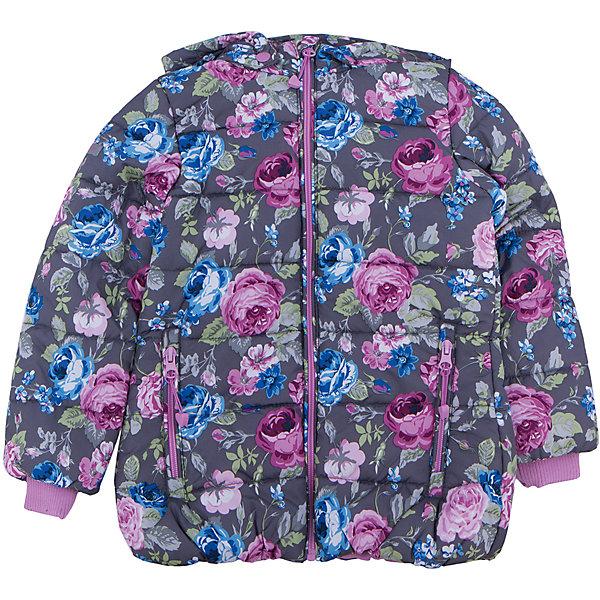 Куртка для девочки PlayTodayЗимние куртки<br>Куртка для девочки от известного бренда PlayToday.<br>Стильная куртка с капюшоном и стежкой. Украшена нежным цветочным принтом. Застегивается на молнию с защитой подбородка и фигурным пуллером. Капюшон отстегивается и удобно утягивается стопперами. На воротнике и рукавах мягкие трикотажные манжеты. Благодаря внутренней резинке на поясе достигается максимально удобная посадка по фигуре ребенка и усиливаются теплозащитные свойства. По бокам два кармана на молнии.<br>Состав:<br>Верх: 100% полиэстер, Подкладка: 100% полиэстер, Наполнитель: 100% полиэстер, 250 г/м2<br>Ширина мм: 356; Глубина мм: 10; Высота мм: 245; Вес г: 519; Цвет: белый; Возраст от месяцев: 36; Возраст до месяцев: 48; Пол: Женский; Возраст: Детский; Размер: 104,122,98,110,116,128; SKU: 4896931;