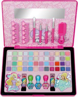 Большой Игровой набор детской декоративной косметики в кейсе, Barbie, артикул:4900295 - Наборы детской косметики