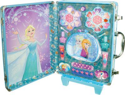 Игровой набор детской декоративной косметики в дорожном чемодане, Холодное сердце, артикул:4900299 - Наборы детской косметики