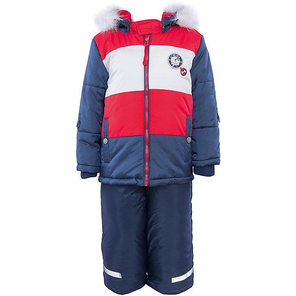 Купить Комплект: куртка и полукомбинезон для мальчика PlayToday, Китай, белый, Мужской