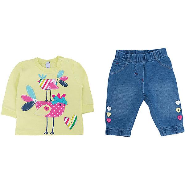 Фотография товара комплект: толстовка и брюки для девочки PlayToday (4901092)