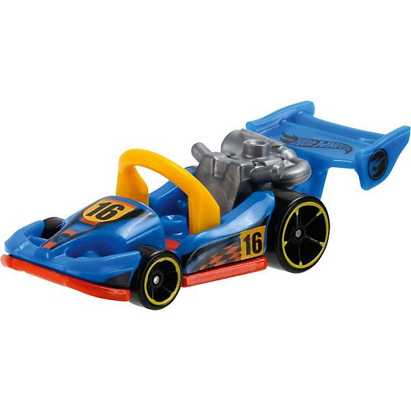 Машинка Hot Wheels из базовой коллекцииПопулярные игрушки<br>Машинка Hot Wheels из базовой коллекции – высококачественная масштабная модель машины, имеющая неординарный, радикальный дизайн. <br><br>В упаковке 1 машинка,  машинки тематически обусловлены от фантазийных, спасательных до экстремальных и просто скоростных машин. <br><br>Соберите свою коллекцию машинок Hot Wheels!<br><br>Дополнительная информация: <br><br>Машинка стандартного размера Hot Wheels<br>Размер упаковки: 11 х 10,5 х 3,5 см<br>Ширина мм: 110; Глубина мм: 45; Высота мм: 110; Вес г: 30; Возраст от месяцев: 36; Возраст до месяцев: 96; Пол: Мужской; Возраст: Детский; SKU: 4901452;