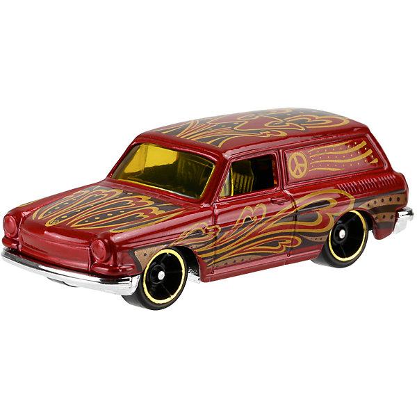 Машинка Hot Wheels из базовой коллекцииПопулярные игрушки<br>Машинка Hot Wheels из базовой коллекции – высококачественная масштабная модель машины, имеющая неординарный, радикальный дизайн. <br><br>В упаковке 1 машинка,  машинки тематически обусловлены от фантазийных, спасательных до экстремальных и просто скоростных машин. <br><br>Соберите свою коллекцию машинок Hot Wheels!<br><br>Дополнительная информация: <br><br>Машинка стандартного размера Hot Wheels<br>Размер упаковки: 11 х 10,5 х 3,5 см<br>Ширина мм: 110; Глубина мм: 45; Высота мм: 110; Вес г: 30; Возраст от месяцев: 36; Возраст до месяцев: 96; Пол: Мужской; Возраст: Детский; SKU: 4901773;
