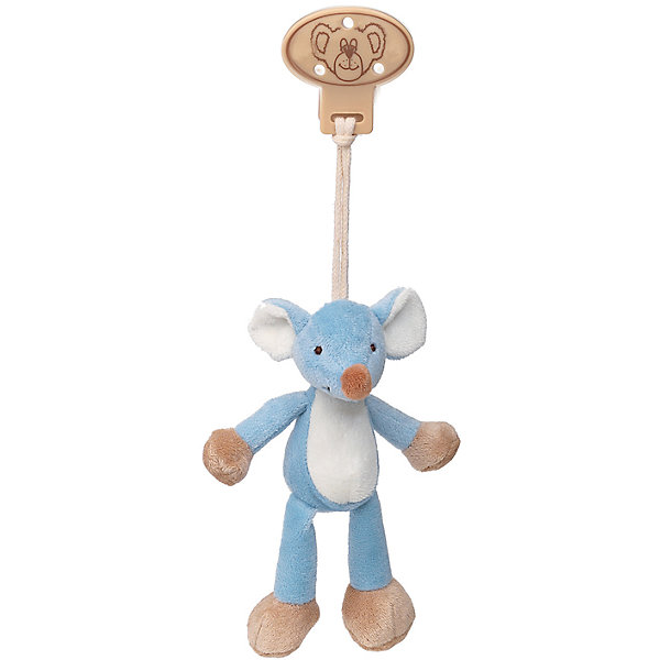 Teddykompaniet Клипса с игрушкой Мышь, Динглисар, Teddykompaniet teddykompaniet пинетки кот большие 12 см динглисар