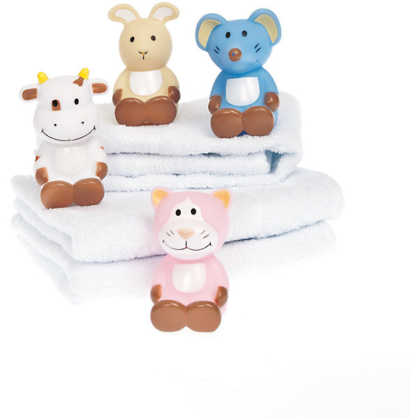 Игрушки для купания  Корова, мышь, кот, кролик, Динглисар, TeddykompanietИгрушки для ванной<br>Материал: пластик<br><br>На выбор одна из игрушек: кот, кролик, корова, мышь<br>Ширина мм: 75; Глубина мм: 75; Высота мм: 100; Вес г: 75; Возраст от месяцев: 0; Возраст до месяцев: 36; Пол: Унисекс; Возраст: Детский; SKU: 4903938;