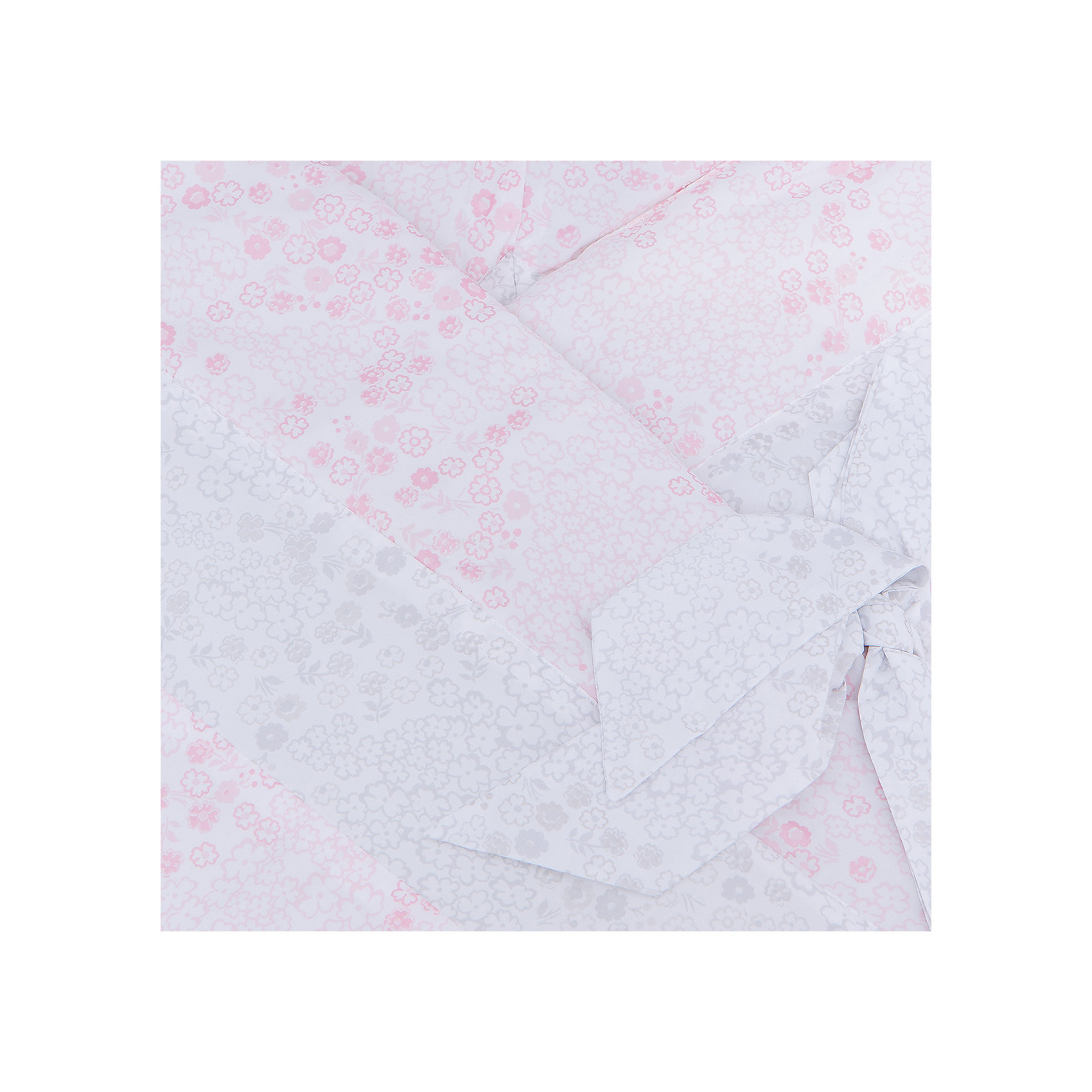 Конверт на выписку Кантри, Leader kids, блестящ. цветок/розовый