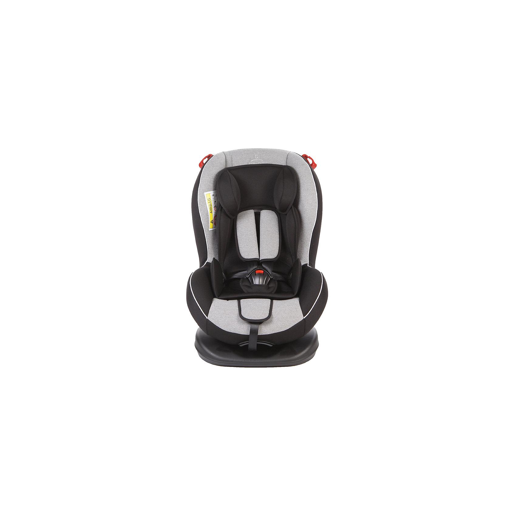 Автокресло Basic Evolution 0-25 кг, Baby Care, серый/чёрный