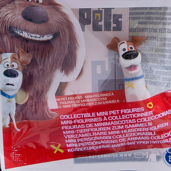 Spin Master Мини-фигурка Пес Макс (с поднятой бровью), Тайная жизнь домашних животных