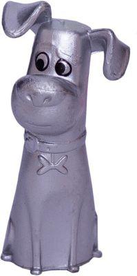 Тайная жизнь домашних животных Мини-фигурка Макс в серебристом окрасе (бровь изогнута), Тайная жизнь домашних животных