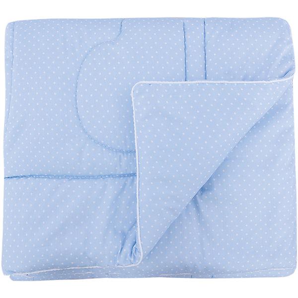 Soni Kids Одеяло в кроватку 110х140, Горошек, Soni kids, голубой soni kids комплект постельного белья из 6 предметов soni kids сладкие мечты