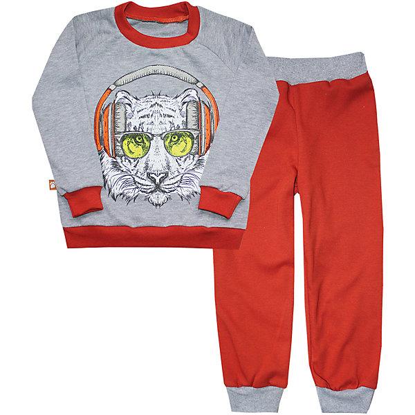 Купить Пижама для мальчика KotMarKot, КотМарКот, Россия, бордовый, 104, 92, 122, 116, 110, 98, Мужской