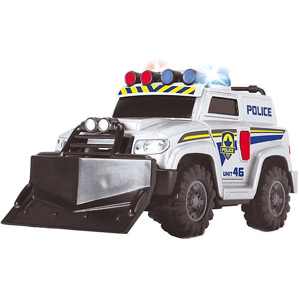 Dickie Toys Полицейская машина Dickie Toys со светом и звуком dickie toys игрушка локомотив со светом и звуком