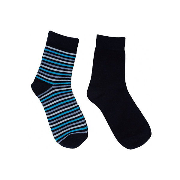 Носки, 2 пары для мальчика ScoolНоски<br>Носки, 2 пары для мальчика из коллекции «Скорость» от известного бренда Scool. Стильные и удобные носки черного и черного в полоску цветов прекрасно сочетаются любыми штанами или джинсами. Носки имеют эластичную резинку, выполнены из прочного, плотного и эластичного трикотажа и придут по вкусу вашему ребенку. <br><br>Дополнительная информация:<br>- Верх носочков на резинке<br>- Длина: стандартная<br><br>Состав: 75% хлопок, 22% нейлон, 3% эластан<br><br>Носки, 2 пары для мальчиков Sela можно купить в нашем интернет-магазине.<br><br>Подробнее:<br>• Для детей в возрасте: от 9 до 14 лет<br>• Номер товара: 4911526<br>Страна производитель: Китай<br>Ширина мм: 87; Глубина мм: 10; Высота мм: 105; Вес г: 115; Цвет: белый; Возраст от месяцев: 108; Возраст до месяцев: 120; Пол: Мужской; Возраст: Детский; Размер: 30-32,35-40,32-35; SKU: 4911525;