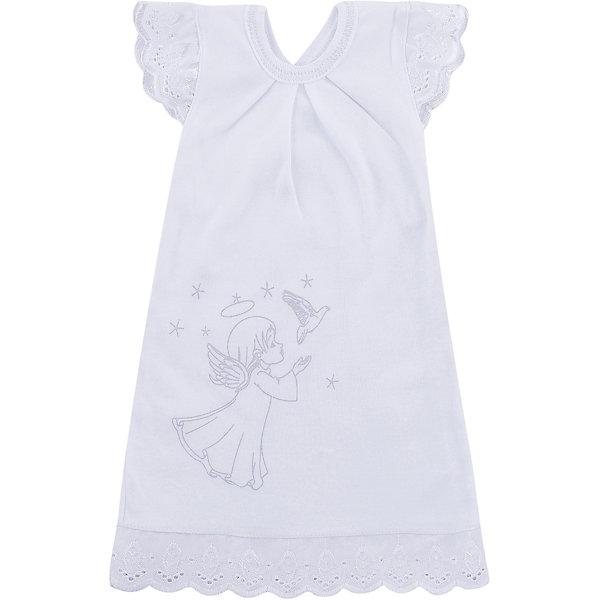 NewBorn Крестильное платье, шитье, р-р 62, NewBorn, белый