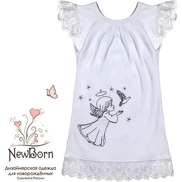 NewBorn Крестильное платье, шитье, р-р 80, NewBorn, белый платье крестильное иришка 24 26