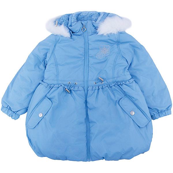Купить Пальто для девочки SELA, Китай, голубой, Женский