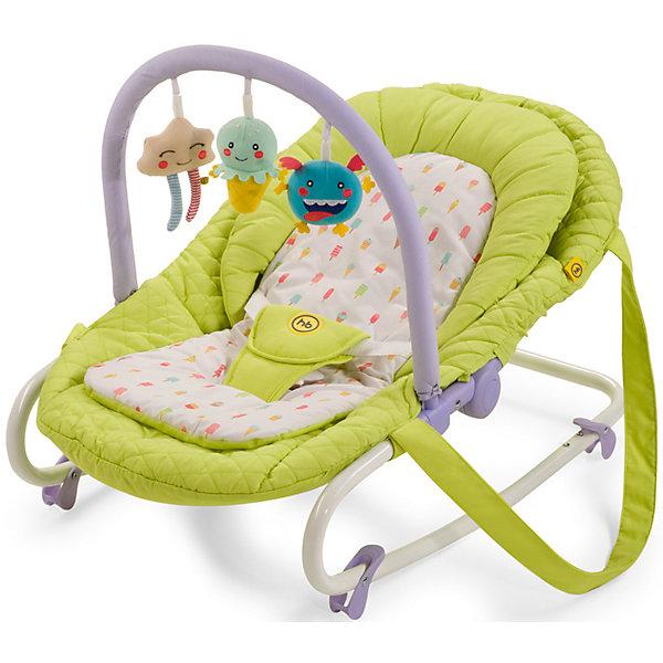 Happy Baby Шезлонг Nesty, Happy Baby, зеленый качели шезлонг happy baby nesty green 3591