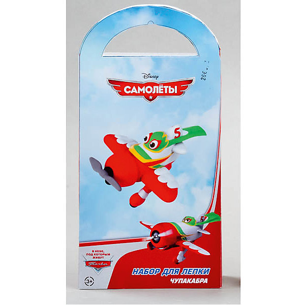 Играем вместе Набор для лепки Сделай фигурку Чупакабра, Самолеты играем вместе набор для лепки сделай фигурку тэнка поезд динозавров