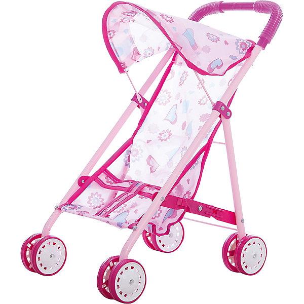 Фотография товара коляска для куклы прогулочная, пакет (4916375)
