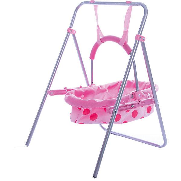Качели для куклы 2-в-1, пакетТранспорт и коляски для кукол<br>Девочки всегда стараются подражать занятиям взрослых. Поэтому и о кукле нужно заботиться по-настоящему! Для этого отлично подойдут качели 2-в-1. Такие игры помогают социализации малышей и освоению ими полезных навыков. Также подобные игрушки развивают воображение и мелкую моторику.<br>Эти качели обязательно понравятся ребенку. Они выглядит очень реалистично! Легкий, но прочный, каркас обеспечит удобство при игре с ними. Качели сделаны из качественных и безопасных для ребенка материалов. <br><br>Дополнительная информация:<br><br>цвет: розовый;<br>материал: пластик, текстиль, металл;<br>размер упаковки: 64 х 6 х 29 см;<br>вес: 750 г.<br><br>Качели для куклы 2-в-1  можно купить в нашем магазине.<br>Ширина мм: 340; Глубина мм: 630; Высота мм: 40; Вес г: 750; Возраст от месяцев: 36; Возраст до месяцев: 2147483647; Пол: Женский; Возраст: Детский; SKU: 4916381;