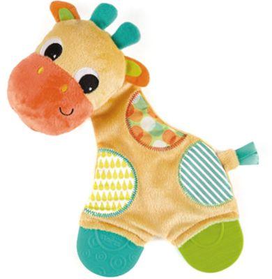 Игрушка «Самый мягкий друг» с прорезывателями, Жираф, Bright Starts, артикул:4918363 - Уход и гигиена