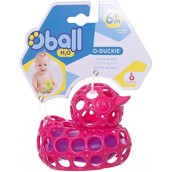 Игрушка для ванны Уточка, розовая, OballИгрушки для ванной<br>Игрушка для ванны Уточка, розовая, от знаменитого американского бренда Oball (Обал). Яркая и веселая игрушка изготовлена из высококачественного пластика и сделает игру в ванной малыша еще интереснее! Специальные колечки уточки сделаны для того, чтобы игрушку можно было держать маленькими пальчиками, а сама уточка плавает если положить ее на воду. Игрушка поможет развить цветовое и тактильное восприятие ребенка. <br>- Дополнительная информация:<br>- Материал: пластик<br>- Размер 9 * 11 * 12 см.<br><br>Игрушку для ванны Уточка, розовая, Oball можно купить в нашем интернет-магазине.<br><br>Подробнее:<br>• Для детей в возрасте: от 3 месяцев до 1 года<br>• Номер товара: 4918375<br>Страна производитель: Китай<br>Ширина мм: 138; Глубина мм: 178; Высота мм: 76; Вес г: 60; Возраст от месяцев: 6; Возраст до месяцев: 36; Пол: Унисекс; Возраст: Детский; SKU: 4918375;