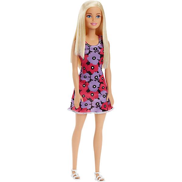 Кукла из серии Стиль, BarbieКуклы модели<br>Характеристики:<br><br>• возраст: от 3 лет;<br>• материал: пластмасса, резина, текстиль;<br>• высота куклы: 29 см;<br>• вес упаковки: 158 гр.;<br>• размер упаковки: 5х8х32 см;<br>• страна бренда: США.<br><br>Кукла Barbie из серии «Стиль» одета в короткое яркое платье и стильные босоножки. На лице куколки выразительный макияж. В таком образе можно пойти на свидание с Кеном или вечеринку.<br><br>Кукла имеет подвижные части тела, что делает игры еще интересней. Волосы можно расчесывать и делать разные прически, что обязательно понравится девочке. Волосы куклы прошиты, поэтому легко выдерживают многократные эксперименты. Игрушка выполнена из безопасных материалов.<br><br>Куклу из серии «Стиль», Barbie можно купить в нашем интернет-магазине.<br>Ширина мм: 60; Глубина мм: 50; Высота мм: 80; Вес г: 158; Возраст от месяцев: 36; Возраст до месяцев: 120; Пол: Женский; Возраст: Детский; SKU: 4918449;