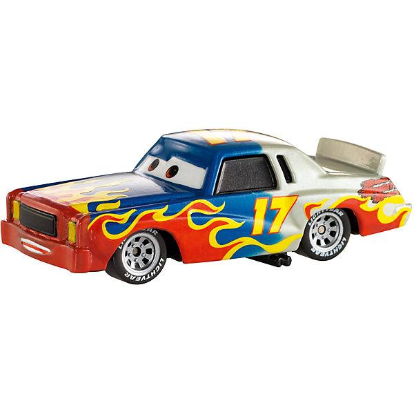 Машинка, меняющая цвет, ТачкиТачки<br>Машинка, меняющая цвет, Тачки от Mattel (Маттел) ? герои любимого мультфильма Тачки представлены в новой уникальной серии Color Changers от Mattel. Машинка выполнена из высококачественного пластика, устойчивого к механическим повреждениям. У машины вращающиеся колеса и инерционный механизм. <br>Машинка Даррел выполнена в сочетании синего и белого цветов с нарисованными яркими языками пламени. При погружении в воду, корпус машинки меняет цвет, насыщенность цвета зависит от температуры воды.<br>Машинка, меняющая цвет, Тачки от Mattel (Маттел) позволит не только создать уникальный дизайн машинки, но и воспроизвести полюбившиеся сцены из мультфильма или придумать свою историю с главными героями.<br><br>Дополнительная информация:<br><br>- Вид игр: сюжетно-ролевые <br>- Предназначение: для дома<br>- Серия: Color Changers<br>- Материал: пластик<br>- Размер: 4,5*14*21,5 см<br>- Вес: 84 г <br>- Особенности ухода: разрешается мыть<br><br>Подробнее:<br><br>• Для детей в возрасте: от 3 лет и до 10 лет<br>• Страна производитель: Китай<br>• Торговый бренд: Mattel<br><br>Машинку, меняющую цвет, Тачки от Mattel (Маттел) можно купить в нашем интернет-магазине.<br>Ширина мм: 45; Глубина мм: 140; Высота мм: 215; Вес г: 84; Возраст от месяцев: 36; Возраст до месяцев: 120; Пол: Мужской; Возраст: Детский; SKU: 4918472;