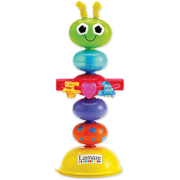 Lamaze Погремушка с присоской Деловой Жучок, Lamaze lamaze игрушка котенок митти lamaze