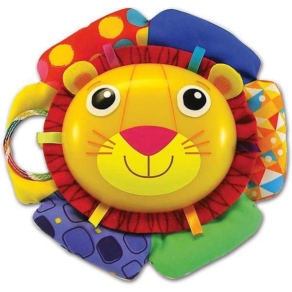 Lamaze Музыкальная игра Лев Логан, звук-мелодия, Lamaze lamaze lamaze развивающая игрушка tomy жучок на цветочке